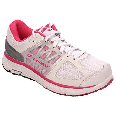 I-RUNNER Miya Women's Therapeutic Athletic Extra Depth Shoe leather/mesh lace-up