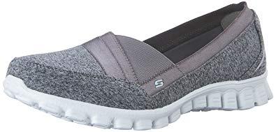 Skechers Womens EZ Flex 2-Fascination Fashion Slip On Sneaker Shoe