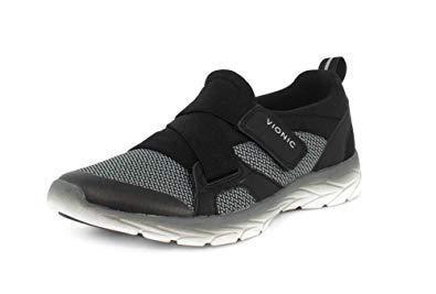 Vionic Women's Dash Slip-on Sneaker Black Charcoal 10 M
