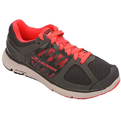 I-RUNNER Maria Women's Therapeutic Athletic Extra Depth Shoe leather/mesh lace-up