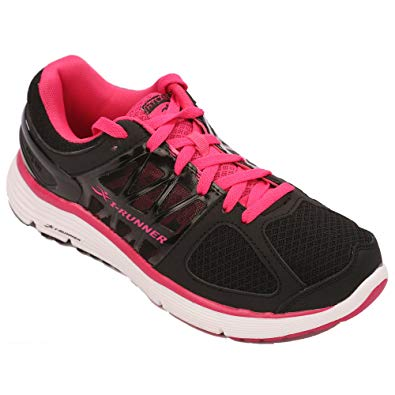I-RUNNER Sophia Women's Therapeutic Athletic Extra Depth Shoe leather/mesh lace-up